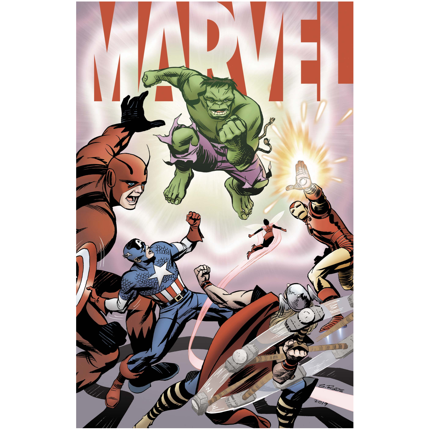 MARVEL 1 OF 6 RUDE VAR
