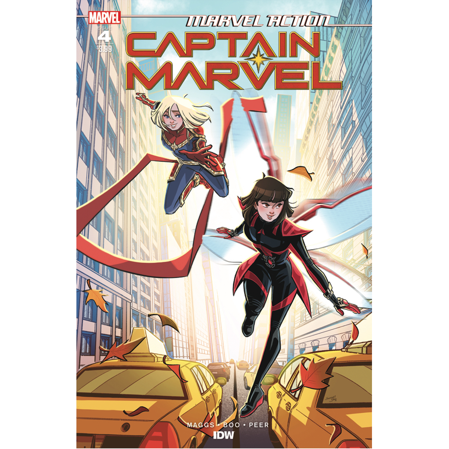 MARVEL ACTION CAPTAIN MARVEL 4 CVR A BOO C 1-0-0
