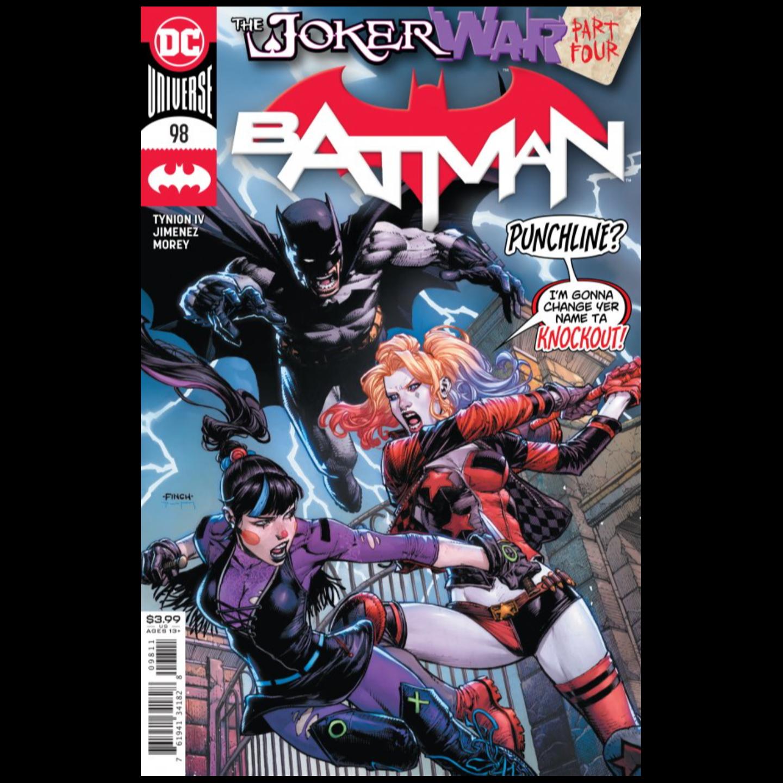 BATMAN #98 CVR A DAVID FINCH (JOKER WAR)