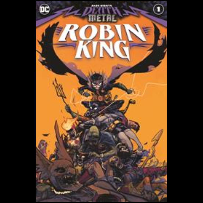 DARK NIGHTS DEATH METAL ROBIN KING #1 (ONE SHOT) CVR A RILEY ROSSMO