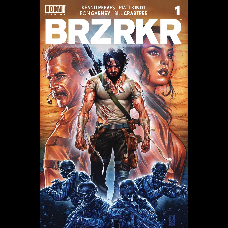 BRZRKR (BERZERKER) #1 CVR D BROOKS FOIL VAR (MR)