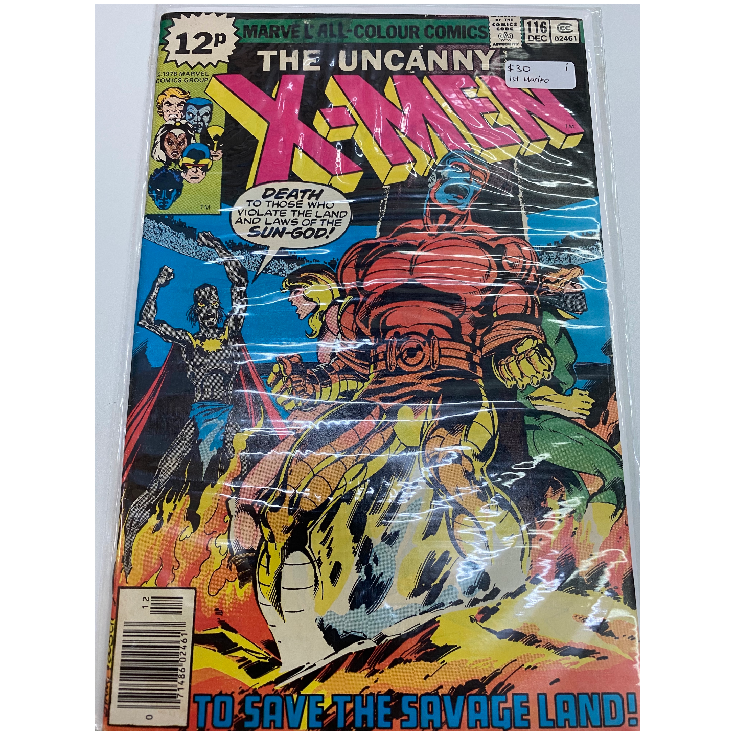 UNCANNY X-MEN #116 (KEY ISSUE)