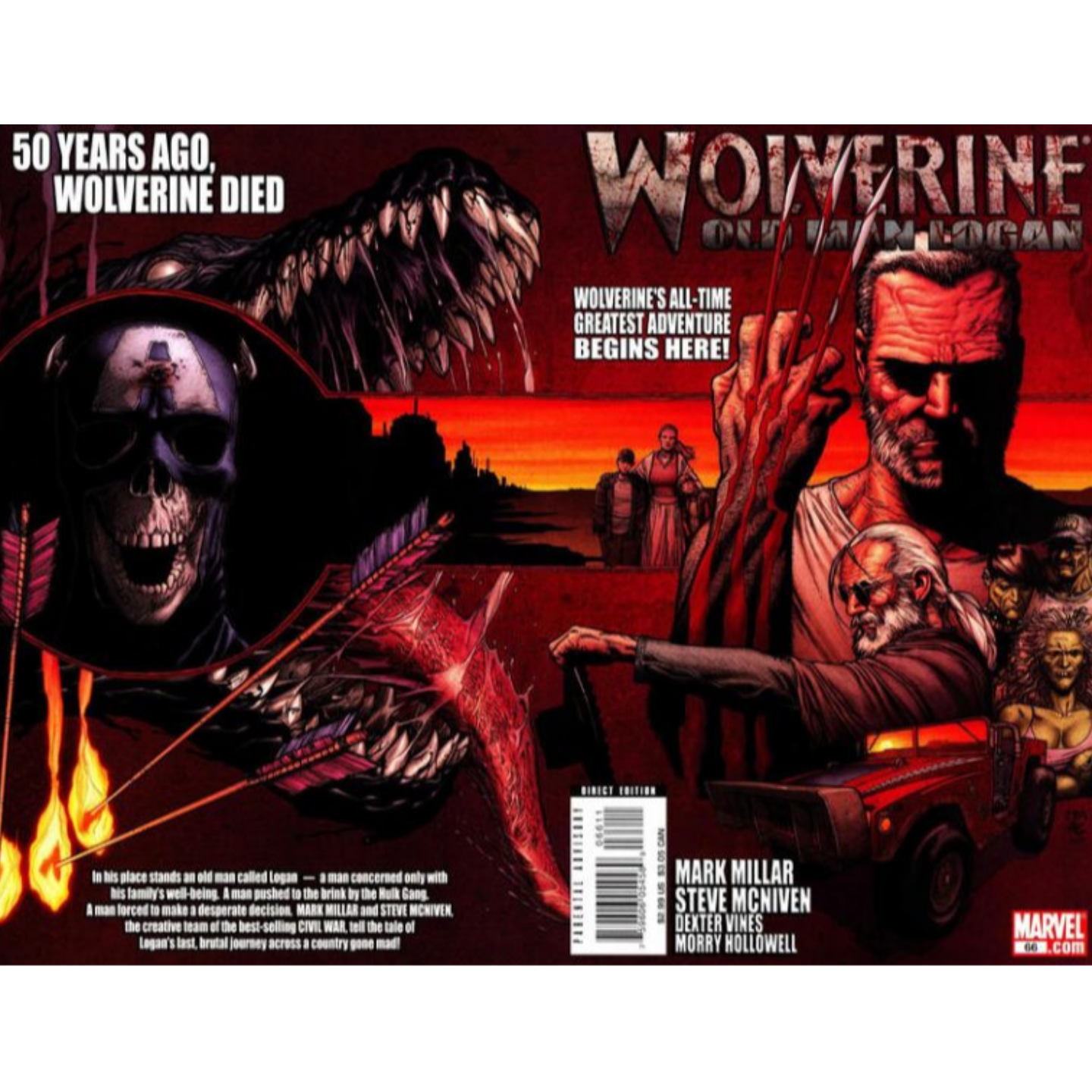 WOLVERINE OLD MAN LOGAN 66 - 72 KEY ISSUES
