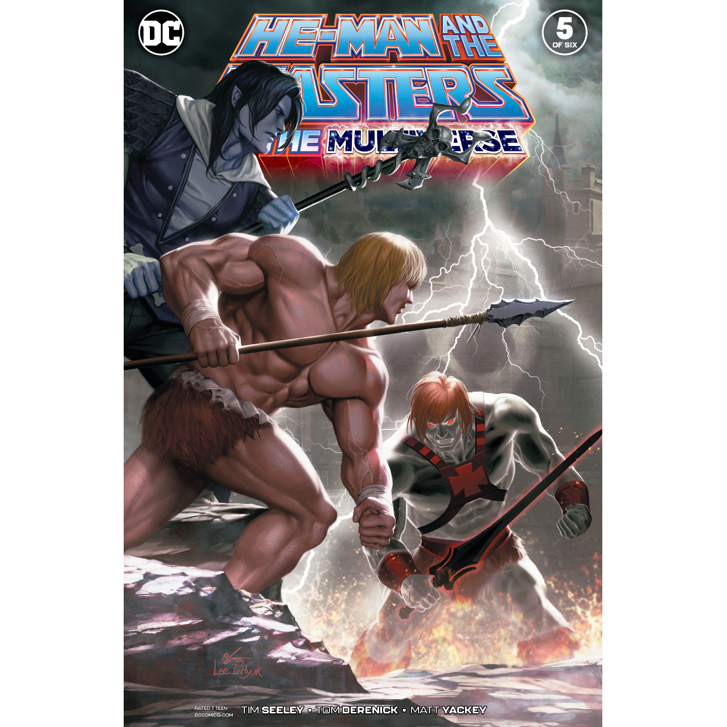 HE MAN AND THE MASTERS OF THE MULTIVERSE 5 OF 6
