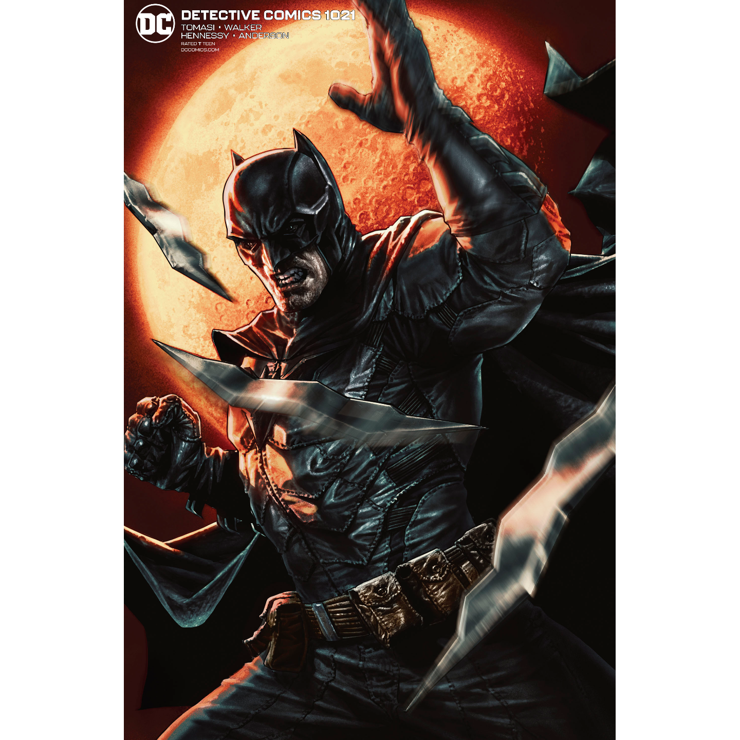 DETECTIVE COMICS #1021 CARD STOCK LEE BERMEJO VAR ED