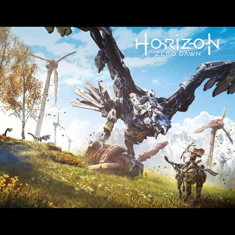 HORIZON ZERO DAWN 1 CVR B GAME ART WRAP
