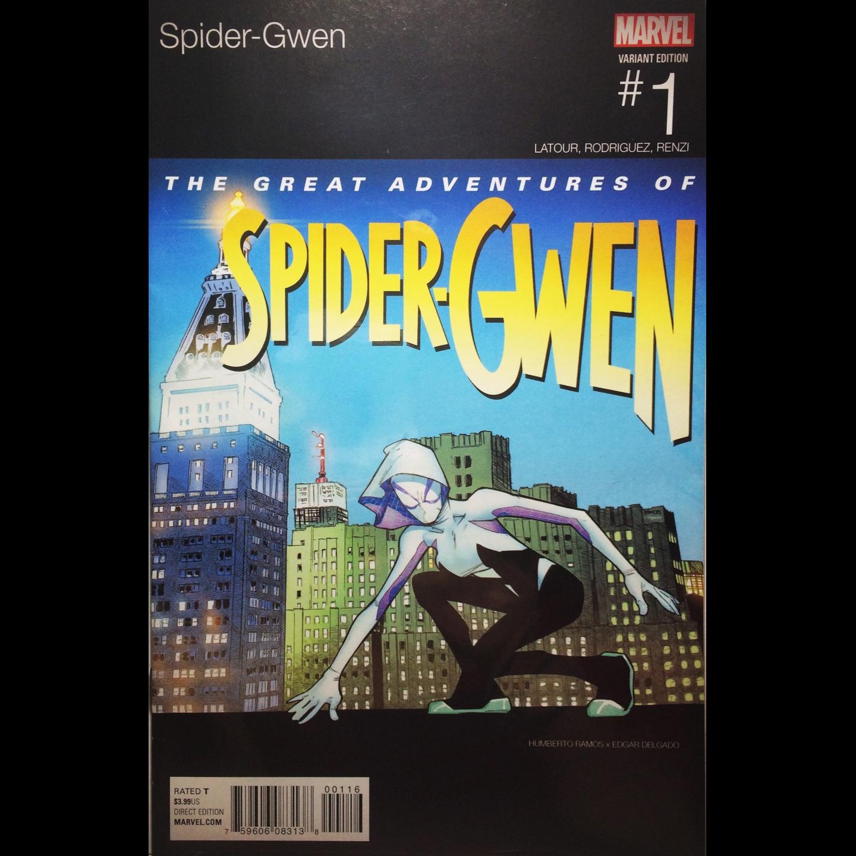 SPIDER-GWEN 1 - HUMBERTO RAMOS - HIP-HOP VARIANT
