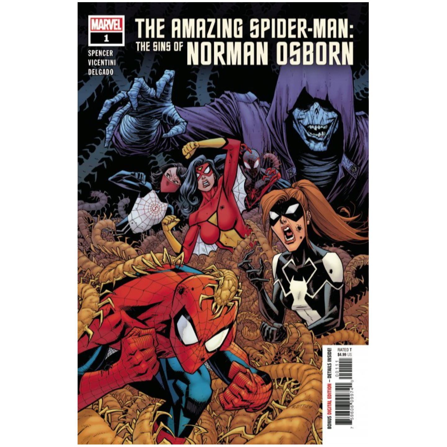 AMAZING SPIDER-MAN SINS OF NORMAN OSBORN #1