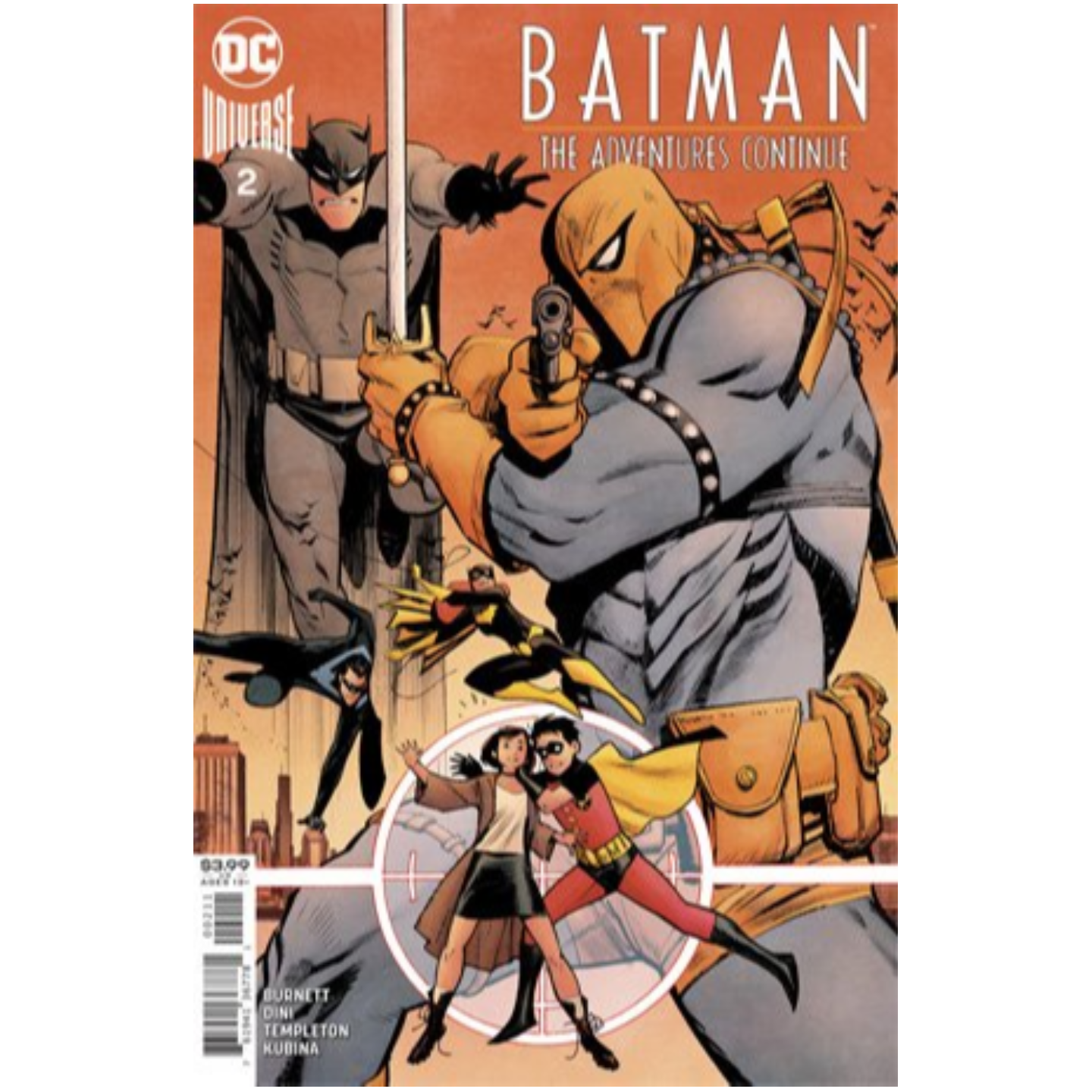BATMAN THE ADVENTURES CONTINUE 2 OF 6 CVR A SEAN MURPHY