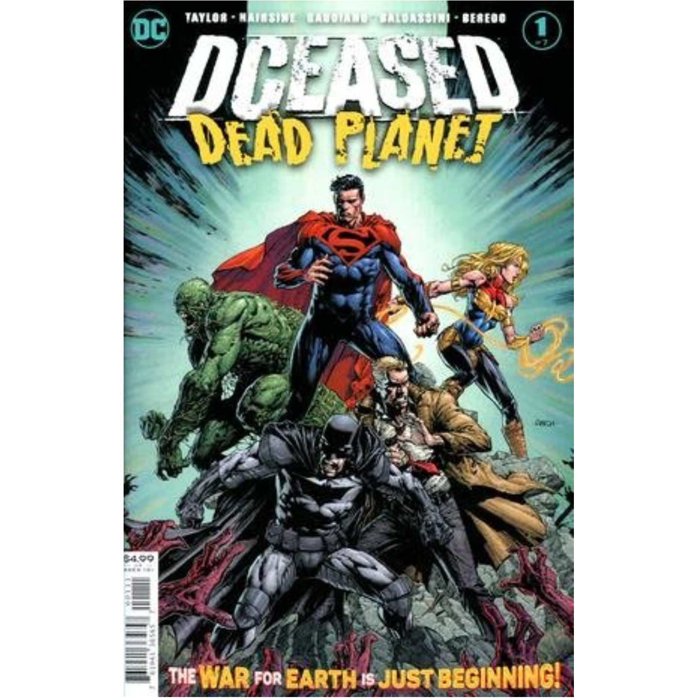 DCEASED DEAD PLANET #1 (OF 6) CVR A DAVID FINCH