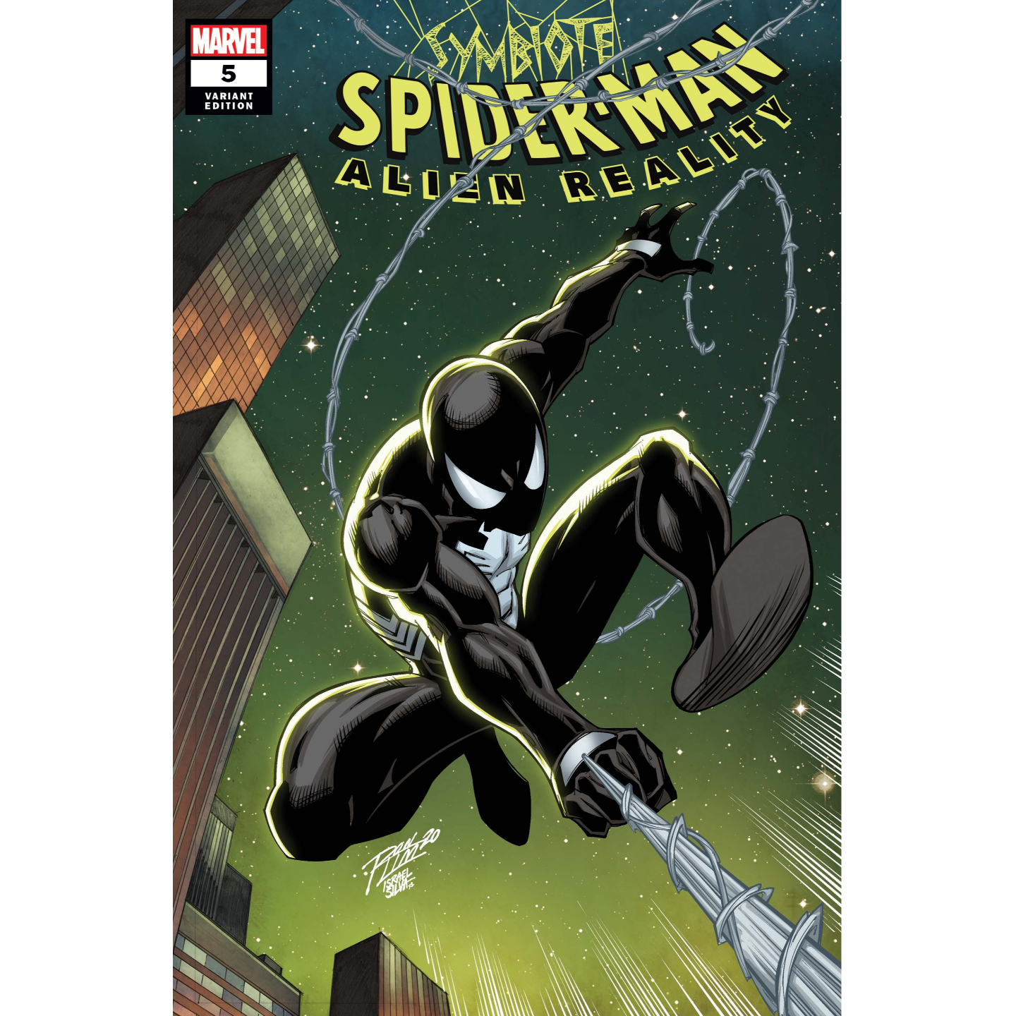 SYMBIOTE SPIDER-MAN ALIEN REALITY #5 (OF 5) RON LIM VAR