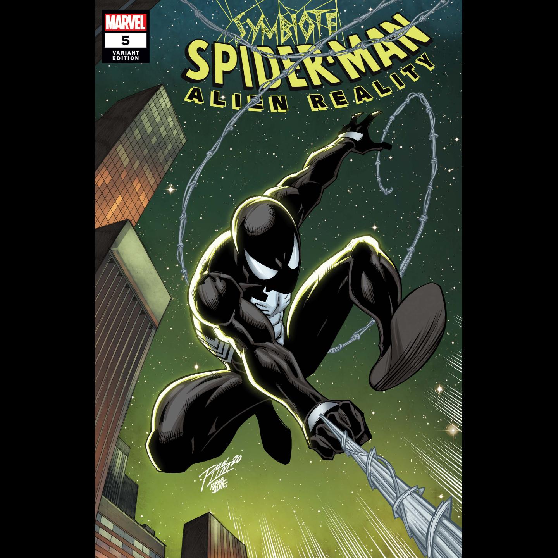 SYMBIOTE SPIDER-MAN ALIEN REALITY #5 (OF 5) RON LIM VAR