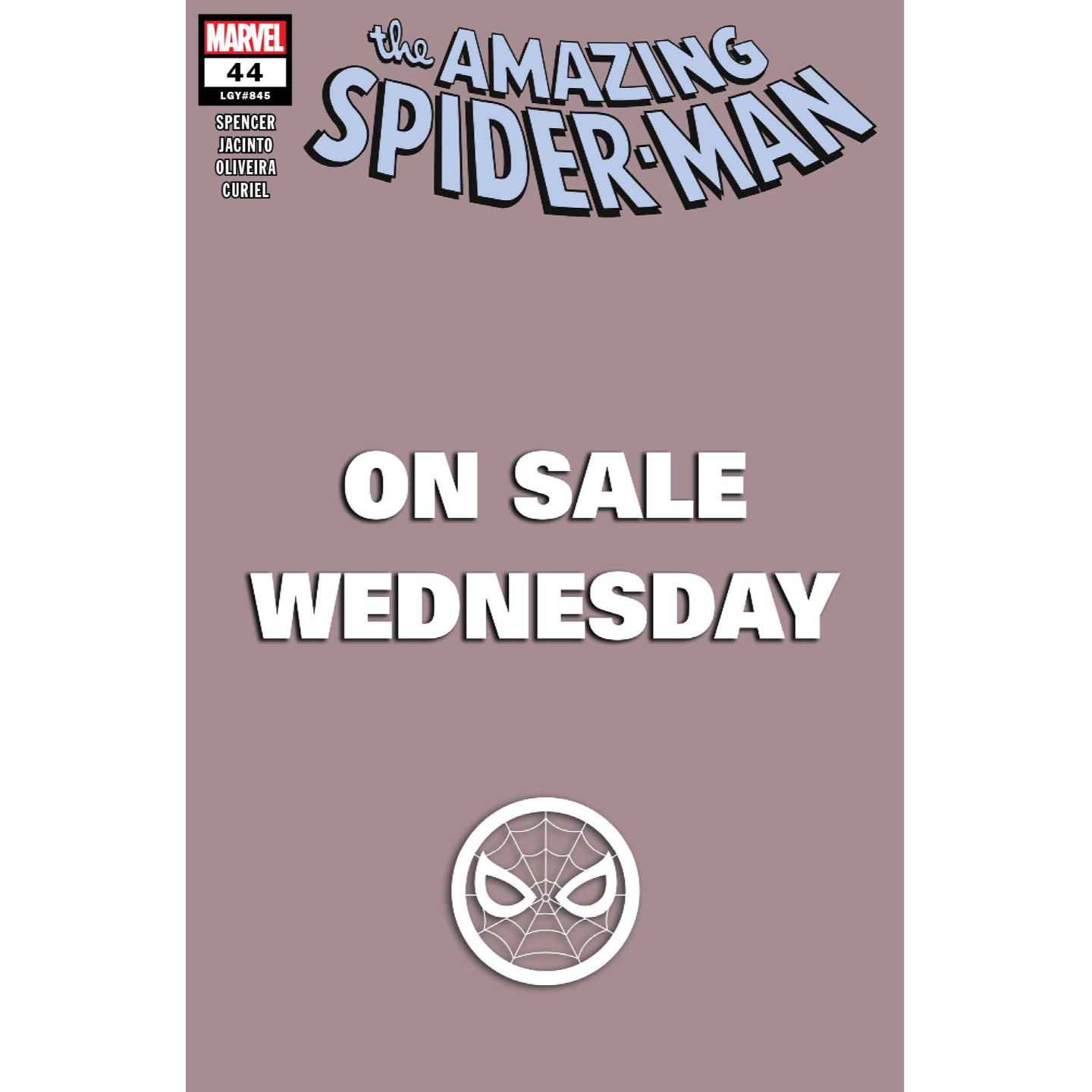AMAZING SPIDER-MAN #44 MARVEL WEDNESDAY VAR