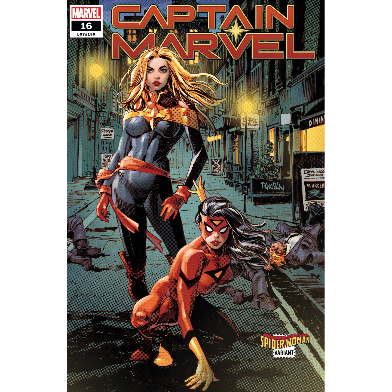 CAPTAIN MARVEL #16 PANOSIAN SPIDER-WOMAN VAR