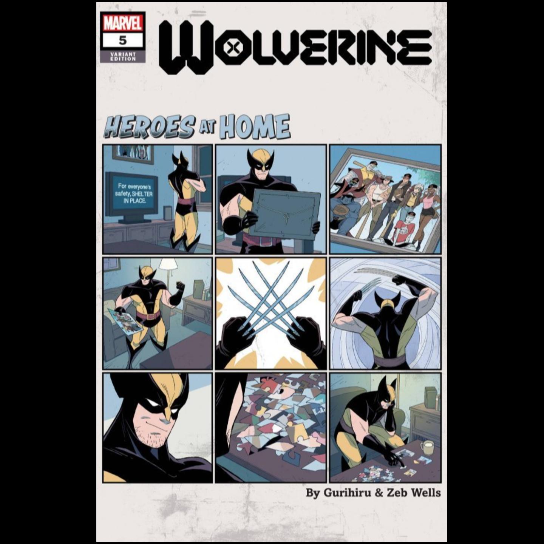 WOLVERINE 5 GURIHIRU HEROES AT HOME VAR