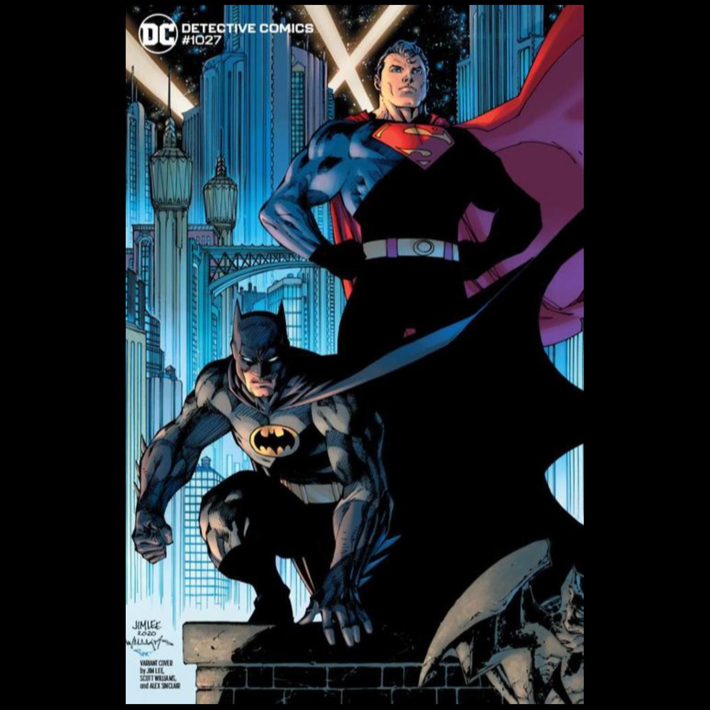 DETECTIVE COMICS #1027 CVR E JIM LEE BATMAN SUPERMAN VAR