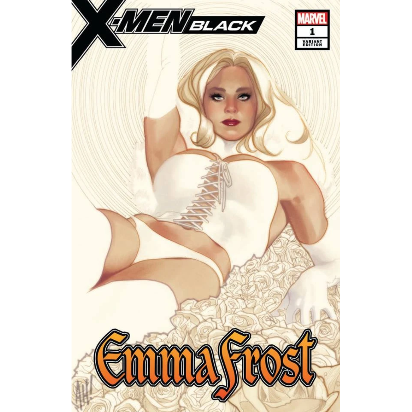 X-MEN BLACK EMMA FROST #1 ADAM HUGHES EXCLUSIVE VARIANT