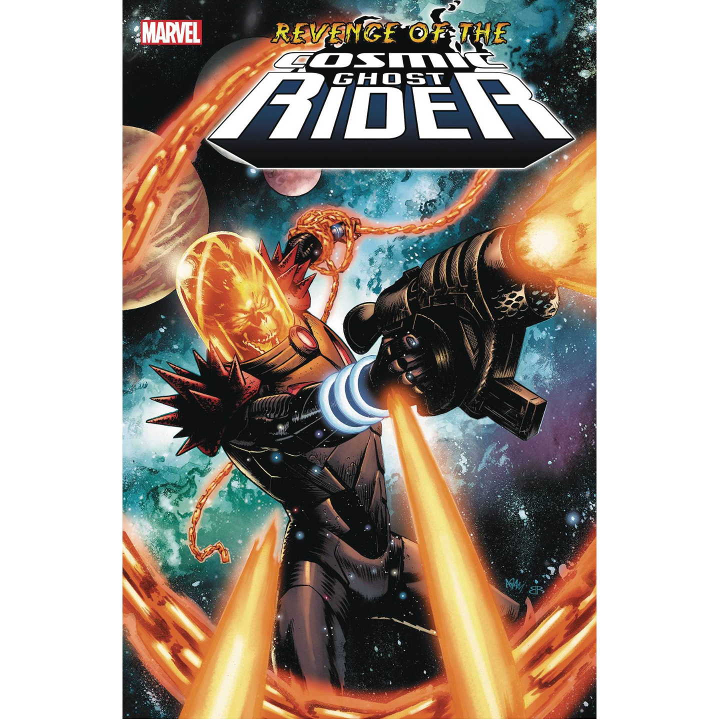 REVENGE OF THE COSMIC GHOST RIDER #1 - GORHAM VAR