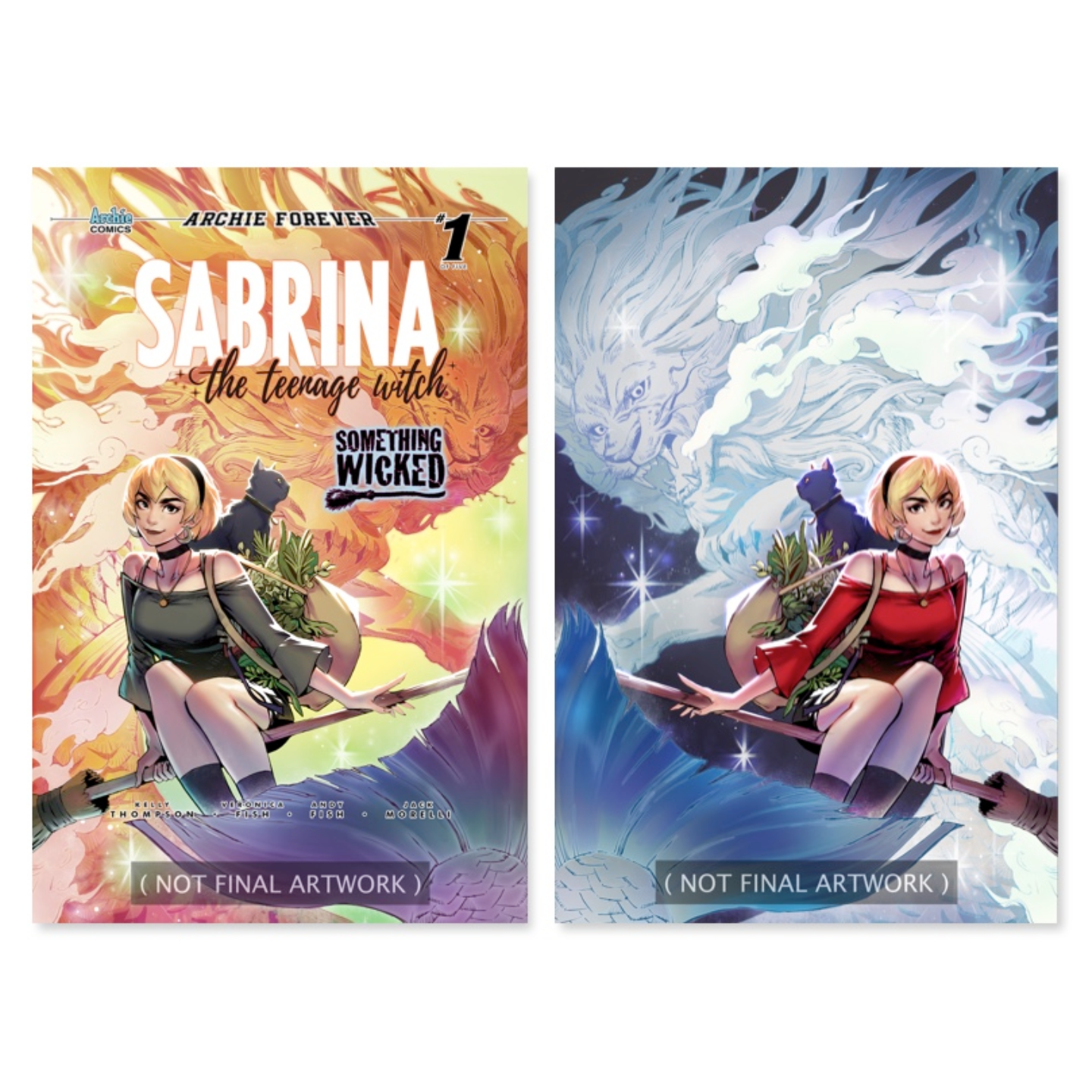 SABRINA SOMETHING WICKED 1 WONDERIFIC EXCLUSIVE TRICIA WEE COVER SET PREORDER