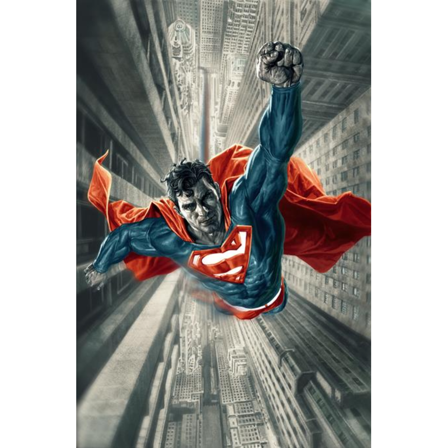 SUPERMAN RED & BLUE #1 (OF 6) CVR B LEE BERMEJO VAR