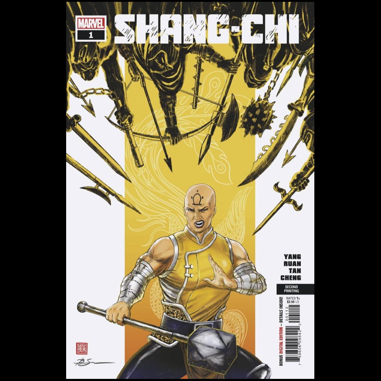 SHANG-CHI #1 (OF 5) 2ND PTG SU VAR