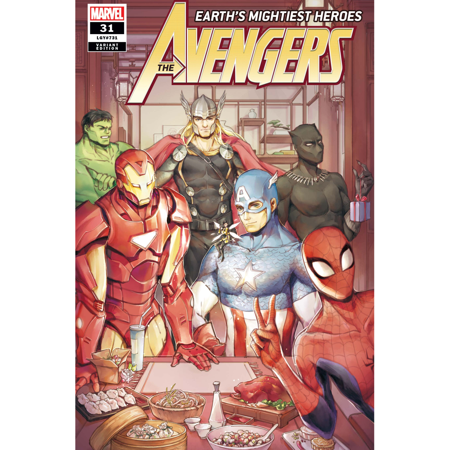 AVENGERS 31 TIANQI HU CHINESE NEW YEAR VAR