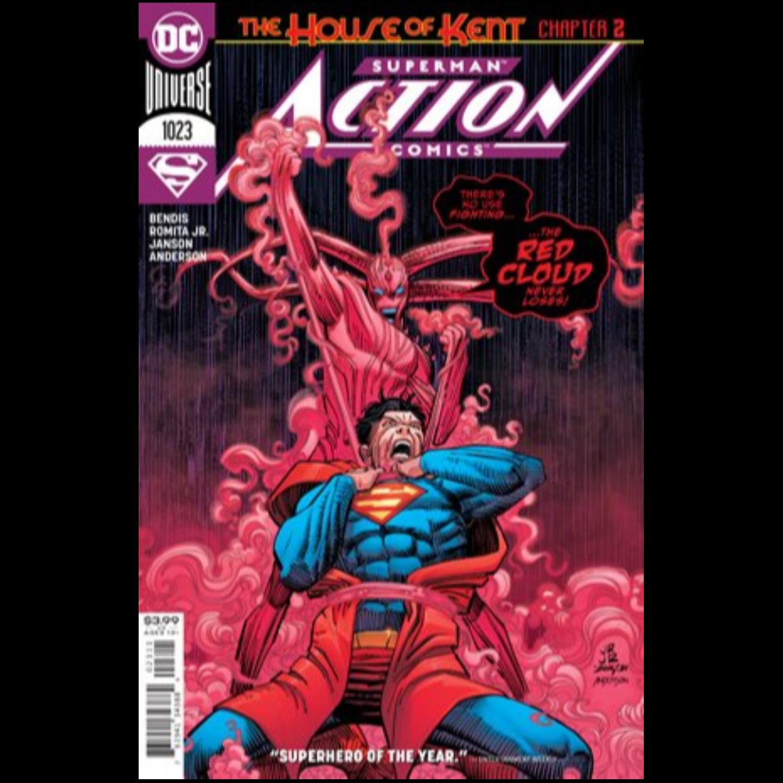 ACTION COMICS #1023 CVR A JOHN ROMITA JR