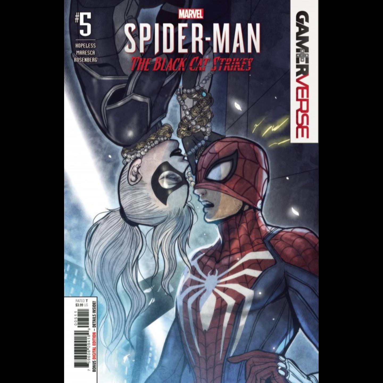 MARVELS SPIDER-MAN BLACK CAT STRIKES #5 (OF 5)