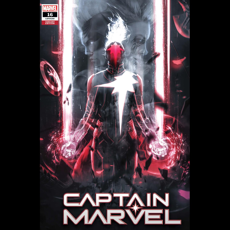 CAPTAIN MARVEL #16 BOSS LOGIC VAR