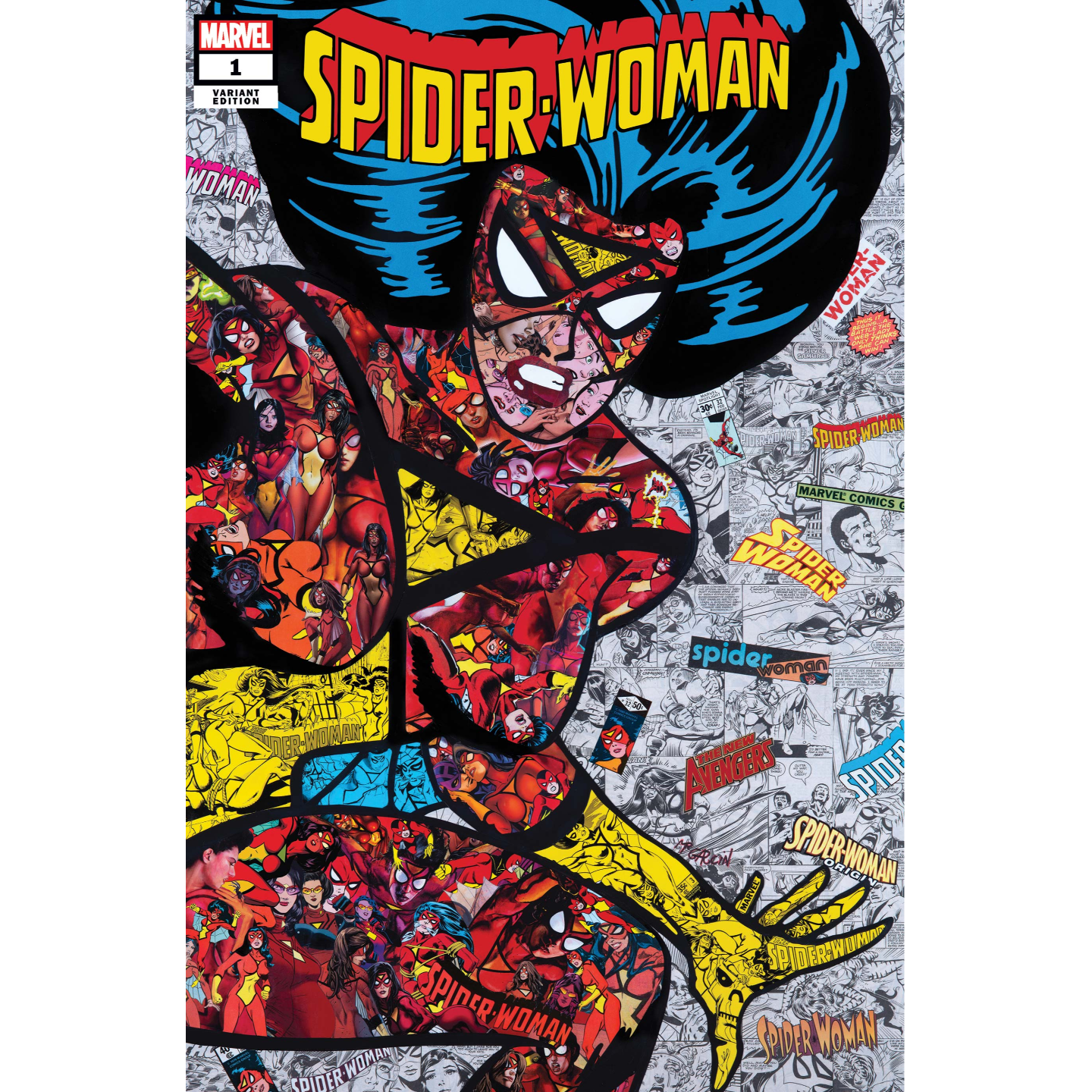SPIDER-WOMAN 1 MR GARCIN VAR