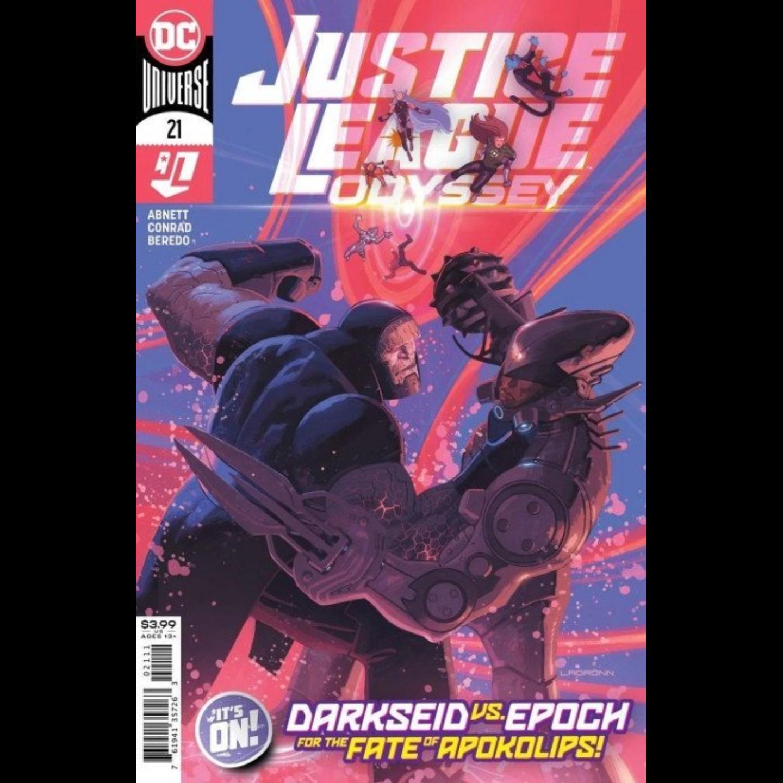 JUSTICE LEAGUE ODYSSEY #21