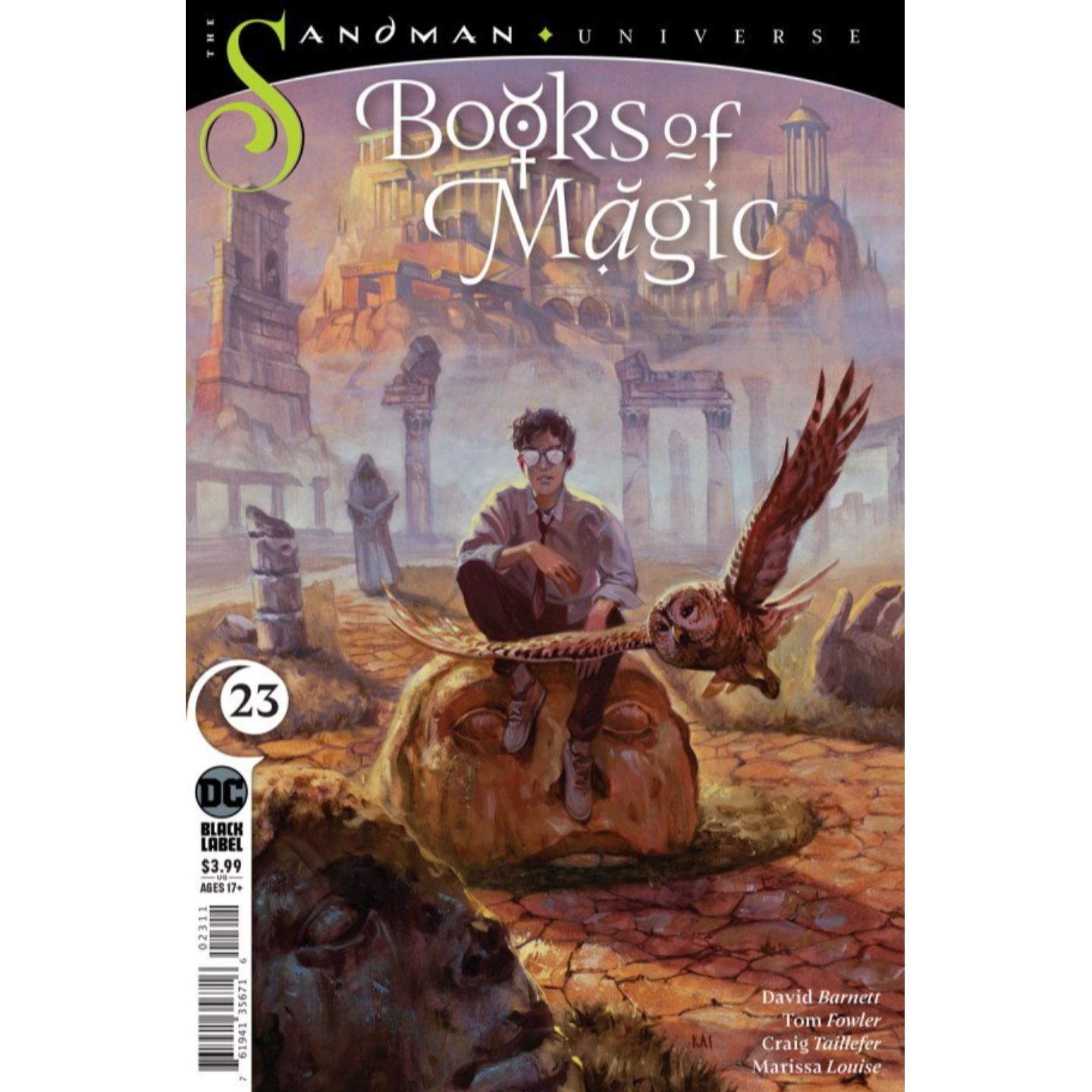 BOOKS OF MAGIC #23 (MR)