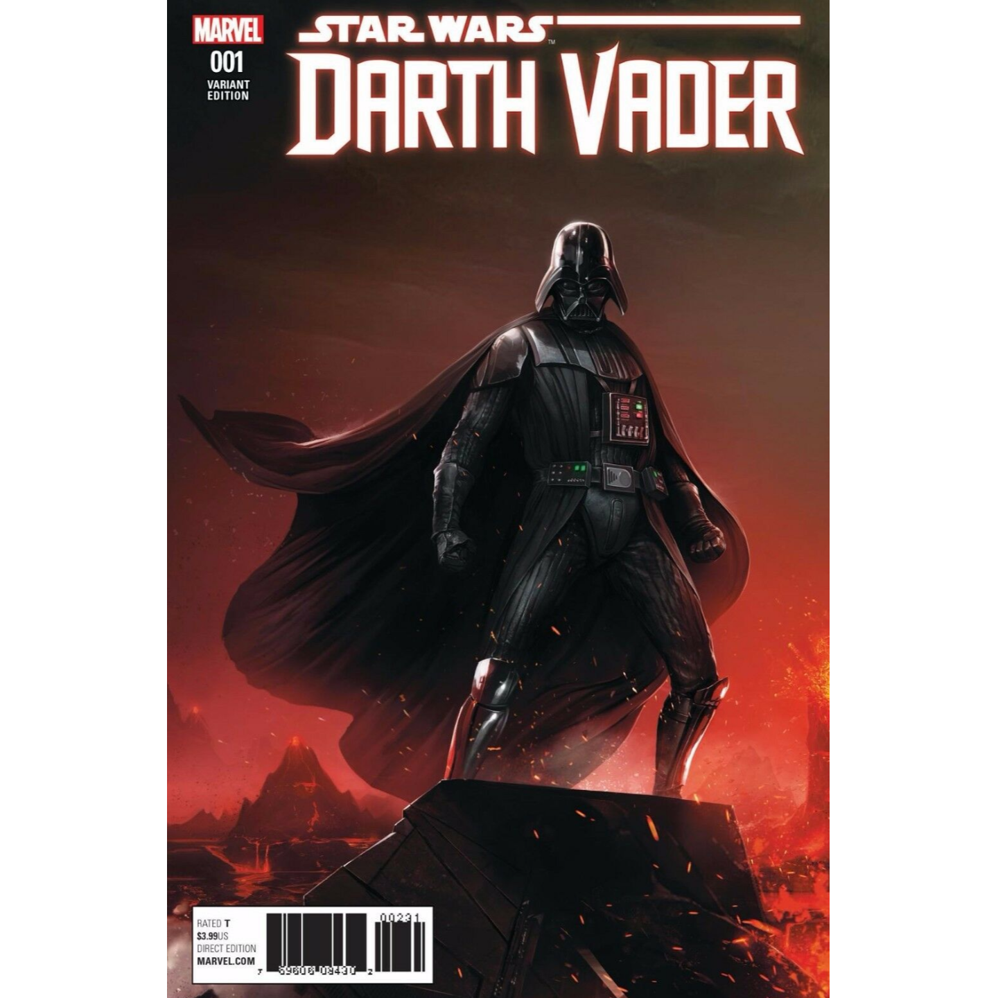 STAR WARS DARTH VADER #1 - FRANCESCO MATTINA (LIMITED 3000)