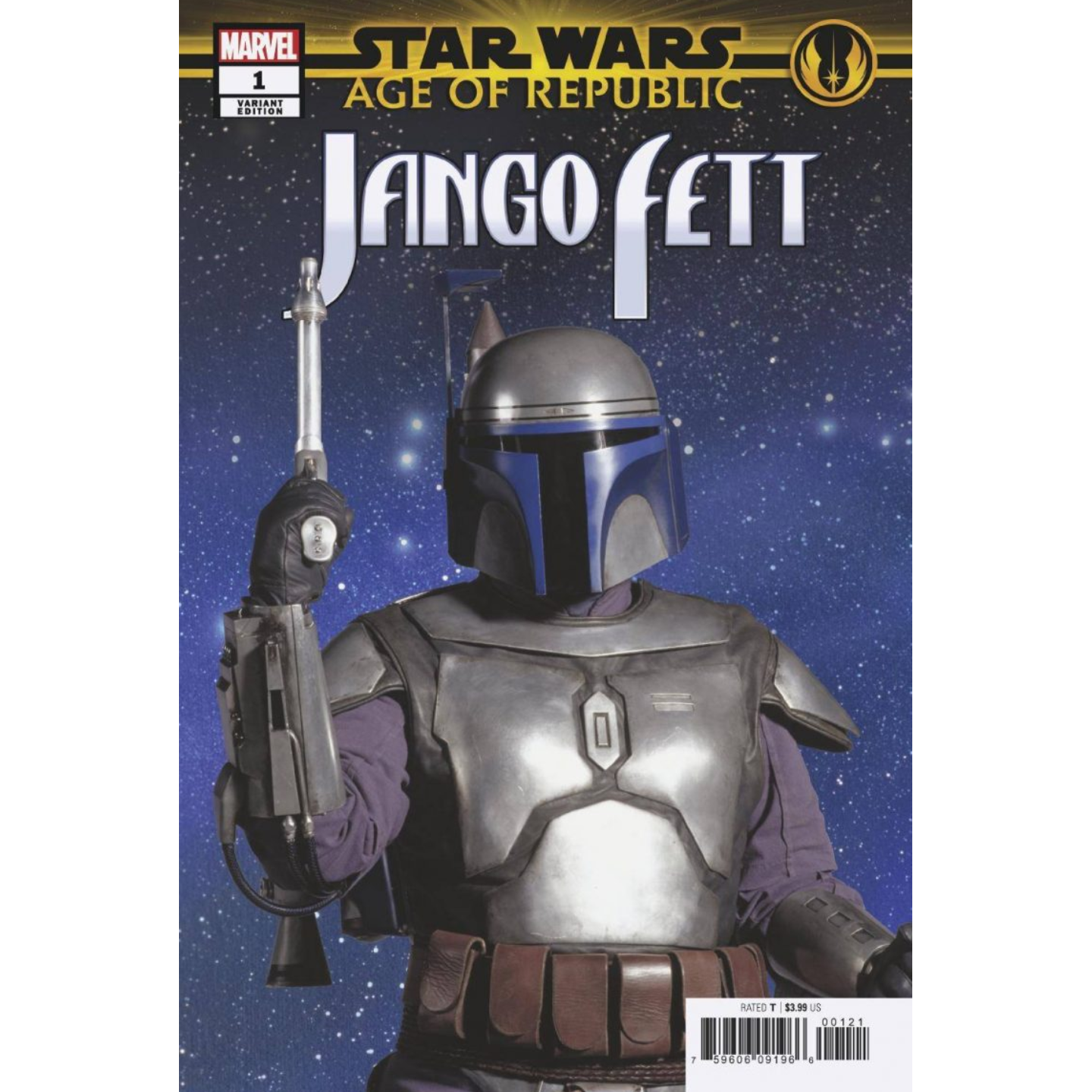 STAR WARS: AGE OF REPUBLIC - JANGO FETT  - MOVIE VAR