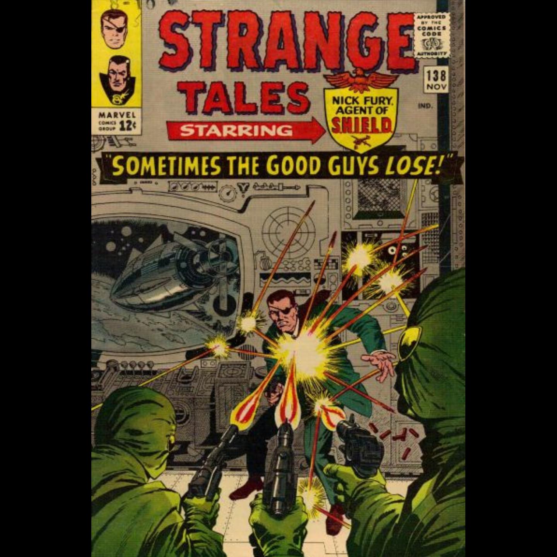 STRANGE TALES 138