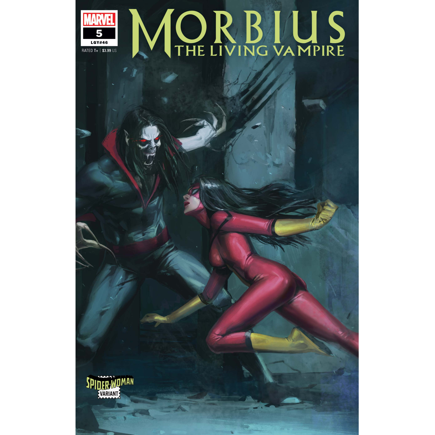 MORBIUS #5 PYEONG JUN PARK SPIDER-WOMAN VAR