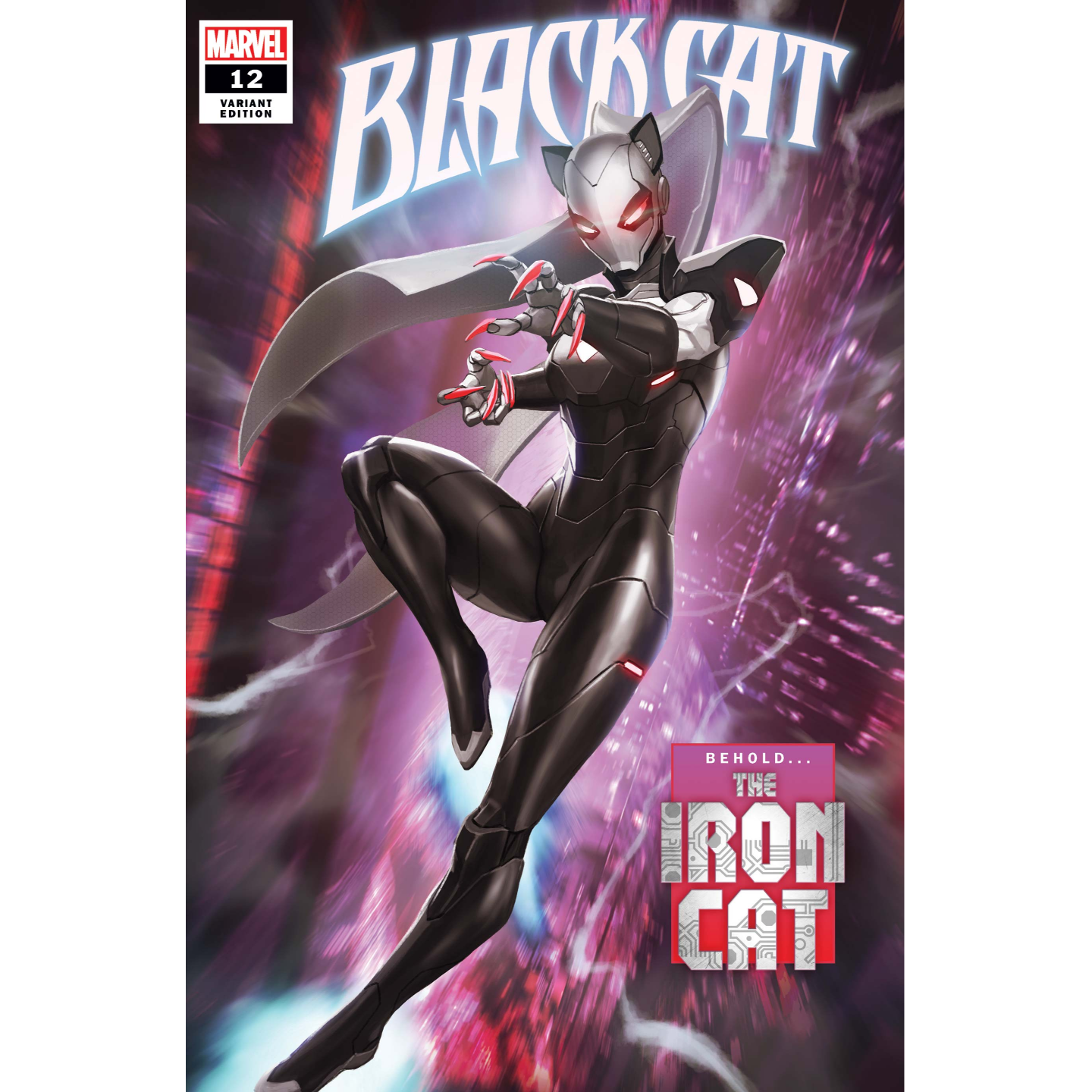 BLACK CAT #12 SKAN VAR