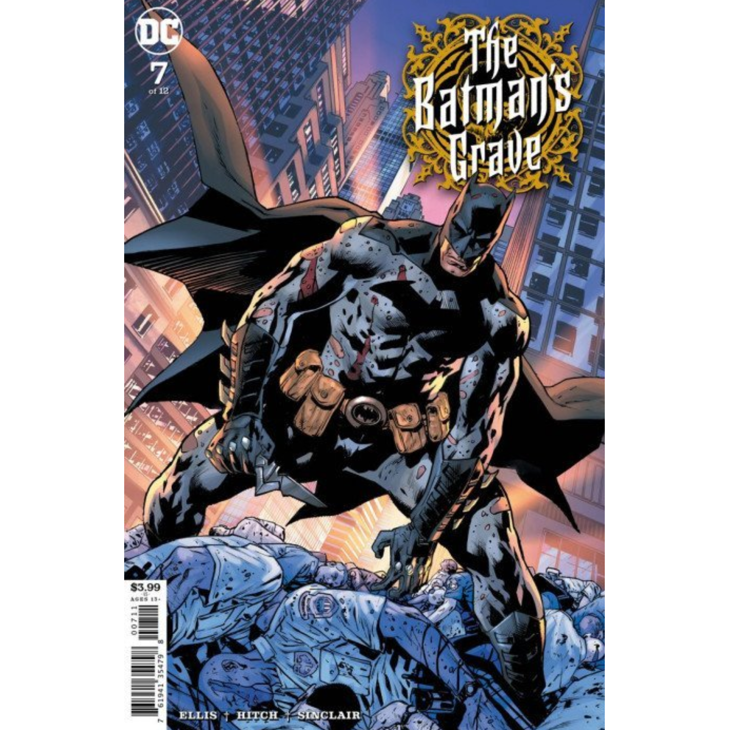 THE BATMAN'S GRAVE #7