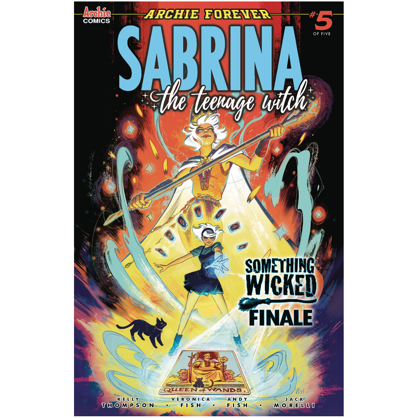 SABRINA SOMETHING WICKED #5 (OF 5) CVR A VERONICA FISH