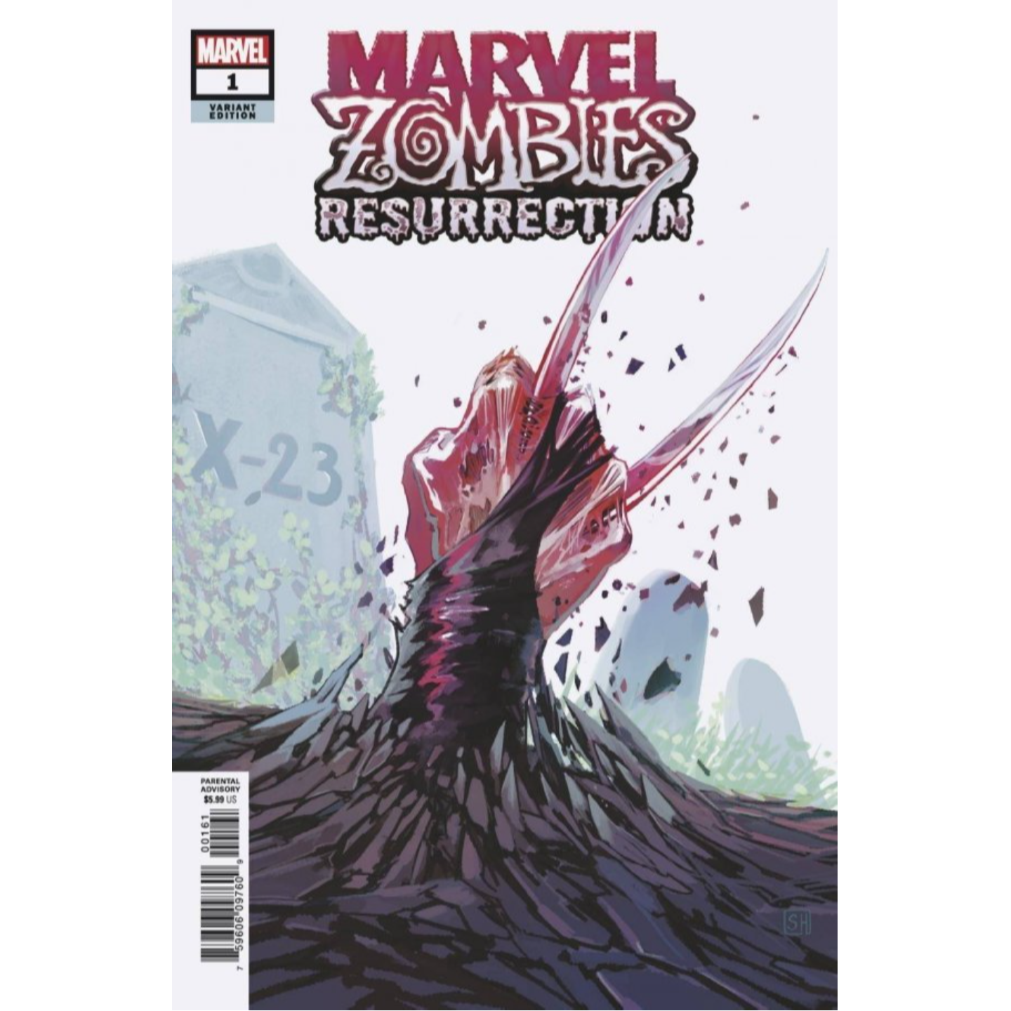 MARVEL ZOMBIES RESURRECTION #1 (OF 4) HANS VAR