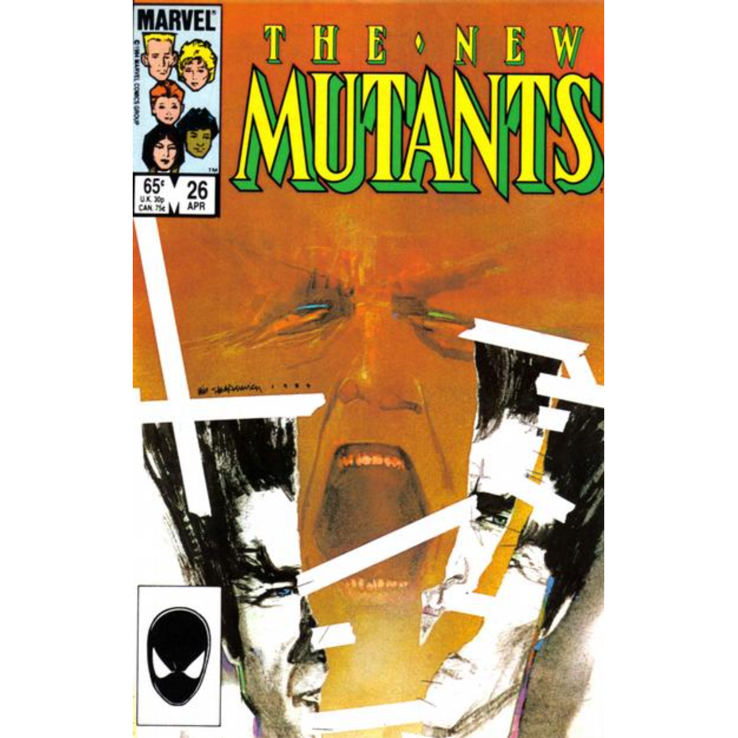 THE NEW MUTANTS #26 (KEY ISSUE)
