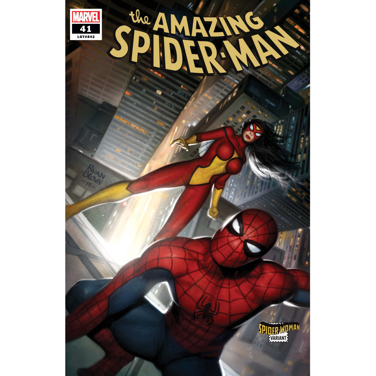 AMAZING SPIDER-MAN 41 BROWN SPIDER-WOMAN VAR