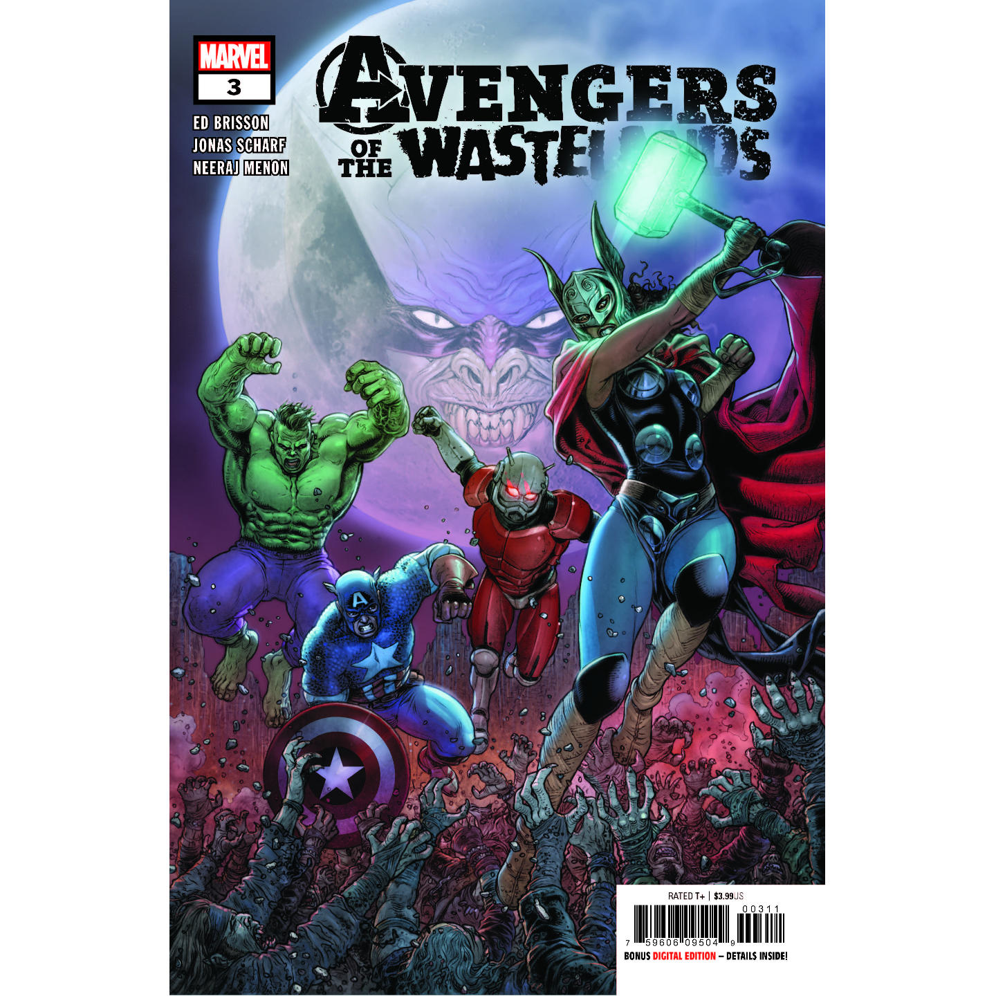 AVENGERS OF THE WASTELANDS 3 OF 5