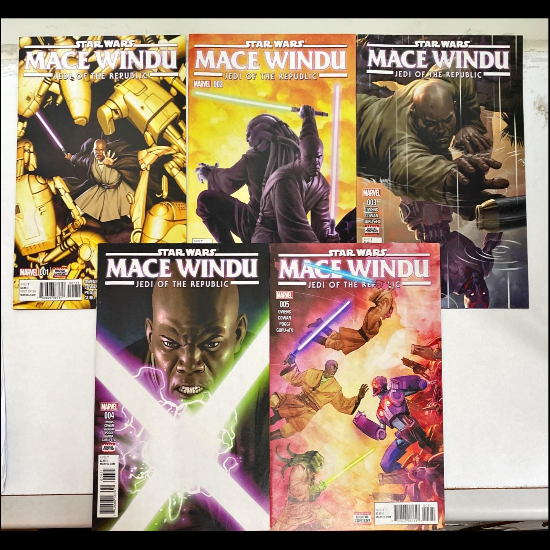 STAR WARS MACE WINDU #1 - #5