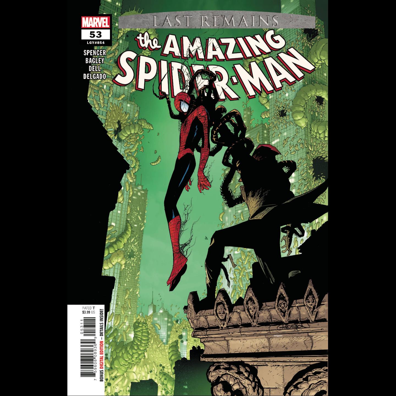 AMAZING SPIDER-MAN #53 LAST