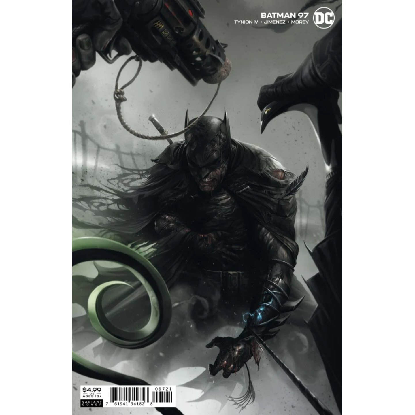 BATMAN #97 COVER B FRANCESCO MATTINA CARD STOCK VARIANT