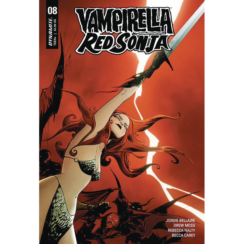 VAMPIRELLA RED SONJA #10 CVR A LEE