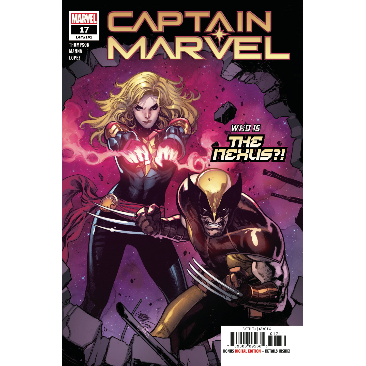CAPTAIN MARVEL 17