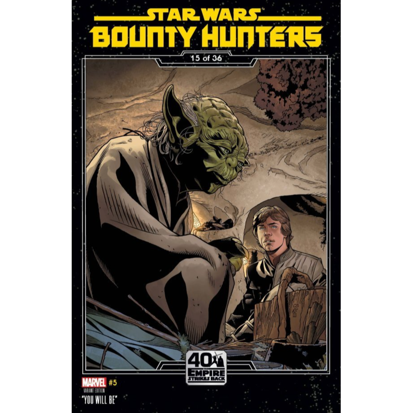 STAR WARS BOUNTY HUNTERS #5 SPROUSE EMPIRE STRIKES BACK VAR
