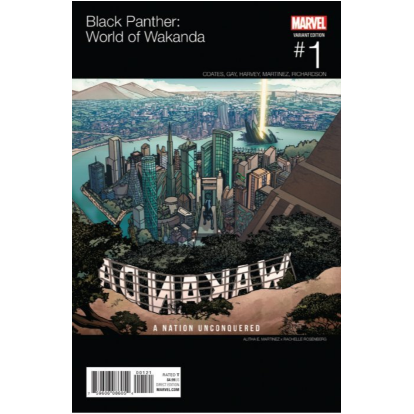 BLACK PANTHER  WORLD OF WAKANDA 1 HIP HOP VARIANT